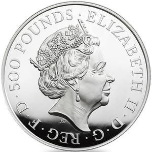United Kingdom / Silver Kilo (1 kg) - obverse photo