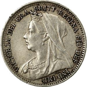 Threepence 1898 (Circulating), Coin from United Kingdom