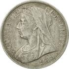 "Halfcrown 1896: Photo 1896 Queen Victoria British Silver ""Widow Head"" Half Crown"