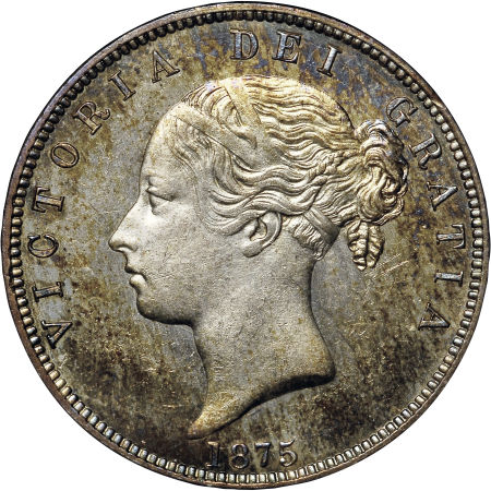 Halfcrown 1875: Photo Great Britain 1875 half crown