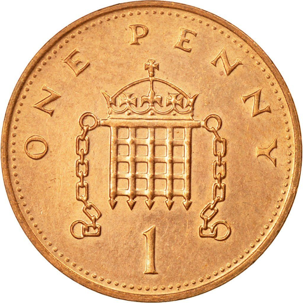 One Penny 1994: Photo Coin, Great Britain, Elizabeth II, Penny, 1994