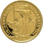 United Kingdom / Gold Quarter Ounce 2006 Britannia - Standing - reverse photo