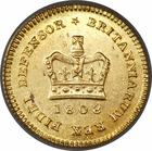 Third Guinea 1808: Photo Great Britain 1808 1/3 guinea