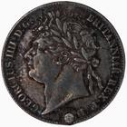 Fourpence 1824 (Maundy): Photo Coin - Groat, George IV, Great Britain, 1824
