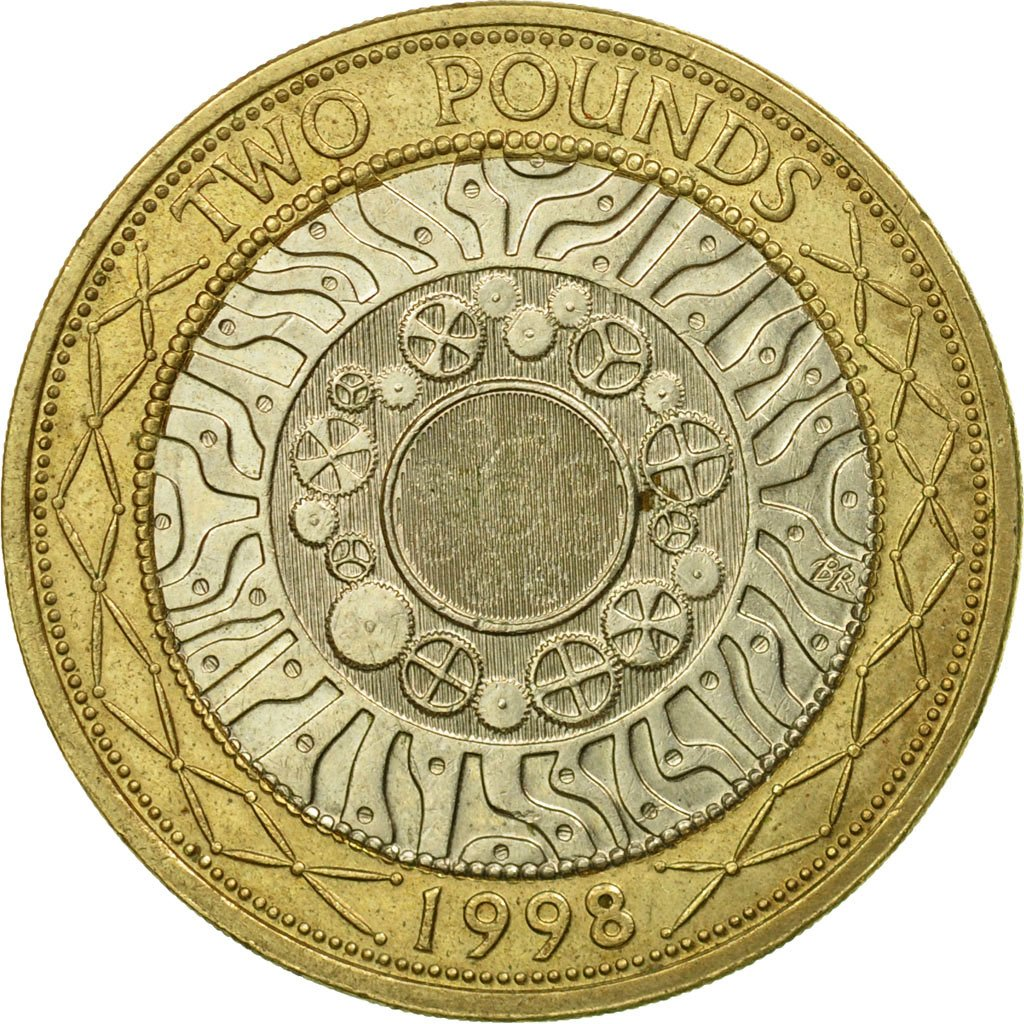 Two pounds 1998 (Technology): Photo Coin, Great Britain, 2 Pounds, 1998