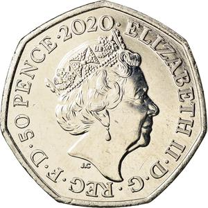 United Kingdom / Fifty Pence 2020 Brexit - obverse photo