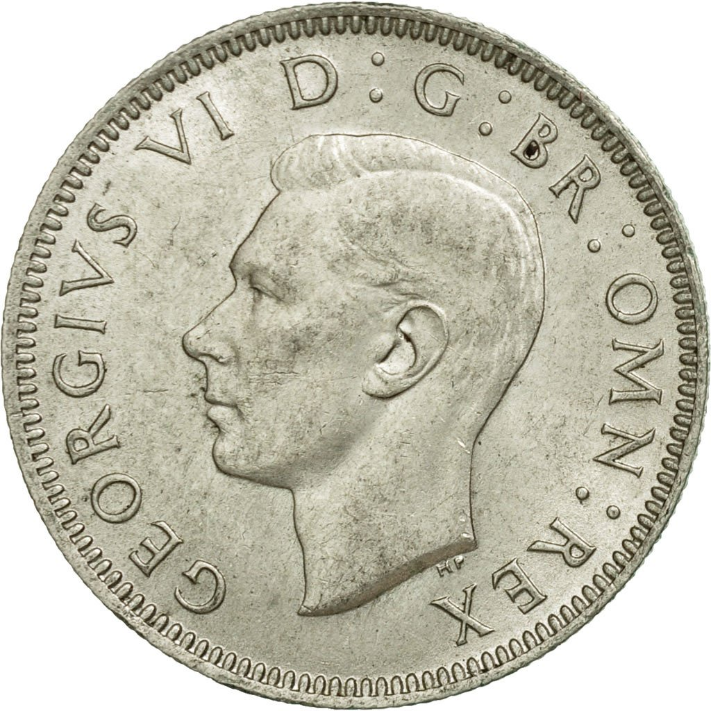Shilling 1943 Scottish: Photo Coin, Great Britain, Shilling, 1943