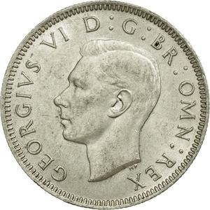 United Kingdom / Shilling 1943 Scottish - obverse photo