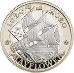 United Kingdom / Two Pounds 2020 Mayflower - reverse photo