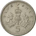 United Kingdom / Five Pence 1990 (Small) - reverse photo