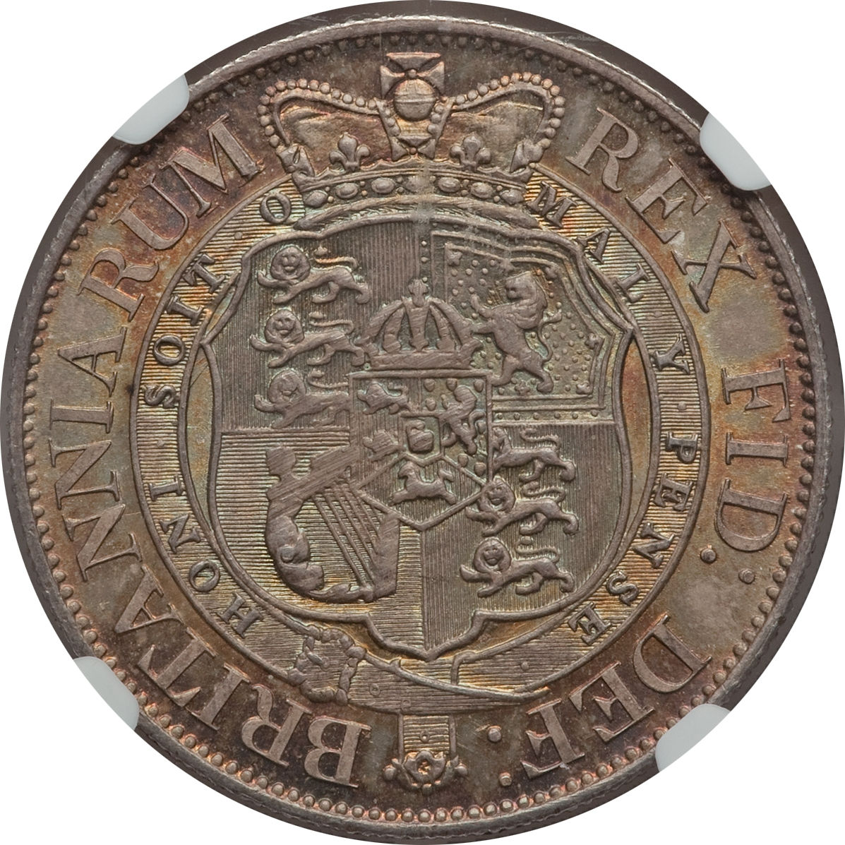 Halfcrown 1817 Small Head: Photo Great Britain 1817 1/2 crown KM-672