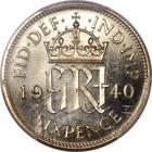 Sixpence 1940: Photo Great Britain 1940 6 pence