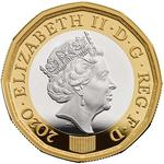 United Kingdom / One Pound 2020 - obverse photo