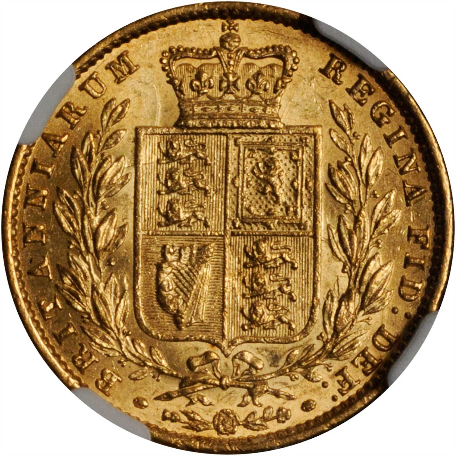 Sovereign 1857: Photo Great Britain 1857 sovereign