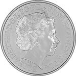 United Kingdom / Five Pounds 2014 Queen Anne - obverse photo