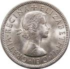 United Kingdom / Two Shillings (Florin) 1956 - obverse photo