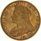 United Kingdom / Sovereign 1897 - obverse photo