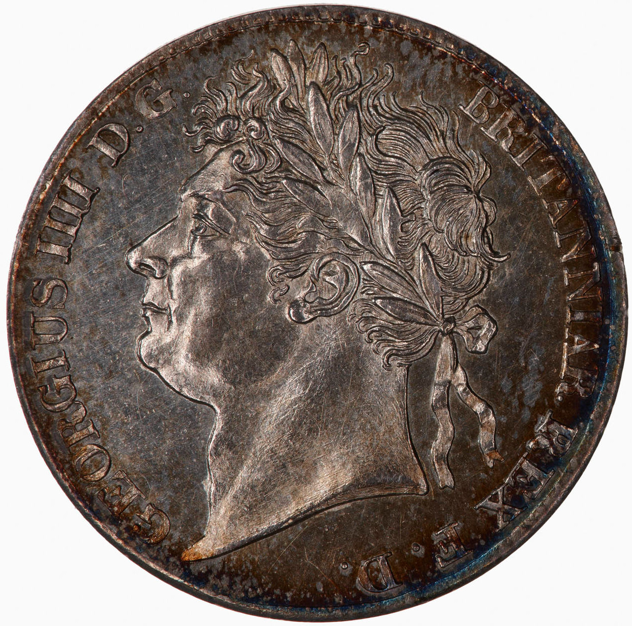 Maundy Fourpence (Pre-decimal): Photo Coin - Groat, George IV, Great Britain, 1829