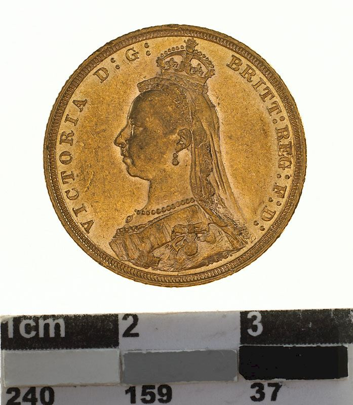 Sovereign 1889: Photo Coin - Sovereign, New South Wales, Australia, 1889