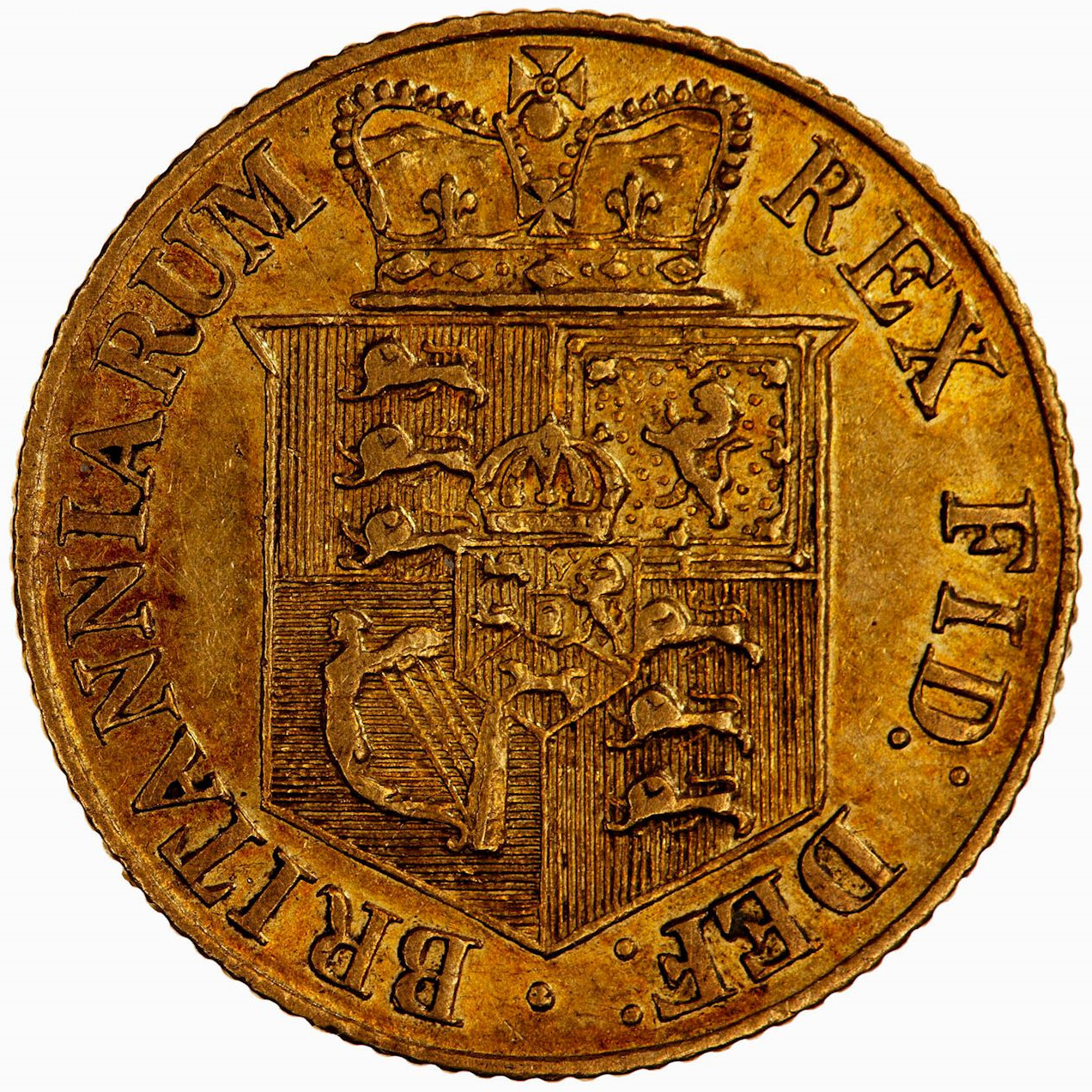 Half Sovereign 1817: Photo Coin - Half-Sovereign, George III, Great Britain, 1817