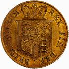 United Kingdom / Half Sovereign 1817 - reverse photo