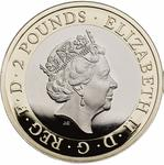 United Kingdom / Two Pounds 2020 Agatha Christie - obverse photo