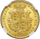 United Kingdom / Half Sovereign 1853 - reverse photo