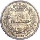 Shilling 1860: Photo Great Britain 1860 shilling