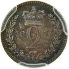 United Kingdom / Twopence 1871 (Maundy) - reverse photo