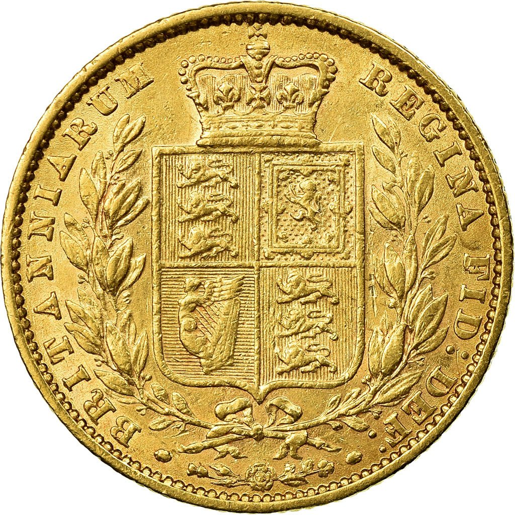 Sovereign 1861: Photo Coin, Great Britain, Sovereign, 1861