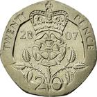 United Kingdom / Twenty Pence 2007 - reverse photo