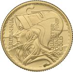 United Kingdom / Gold Quarter Ounce 2006 Britannia - Waves - reverse photo