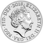 United Kingdom / Five Pence 2018 (mint sets only) - obverse photo