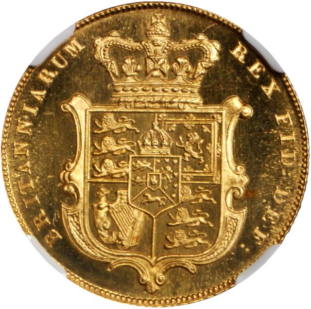 Sovereign 1826: Photo Great Britain 1826 sovereign