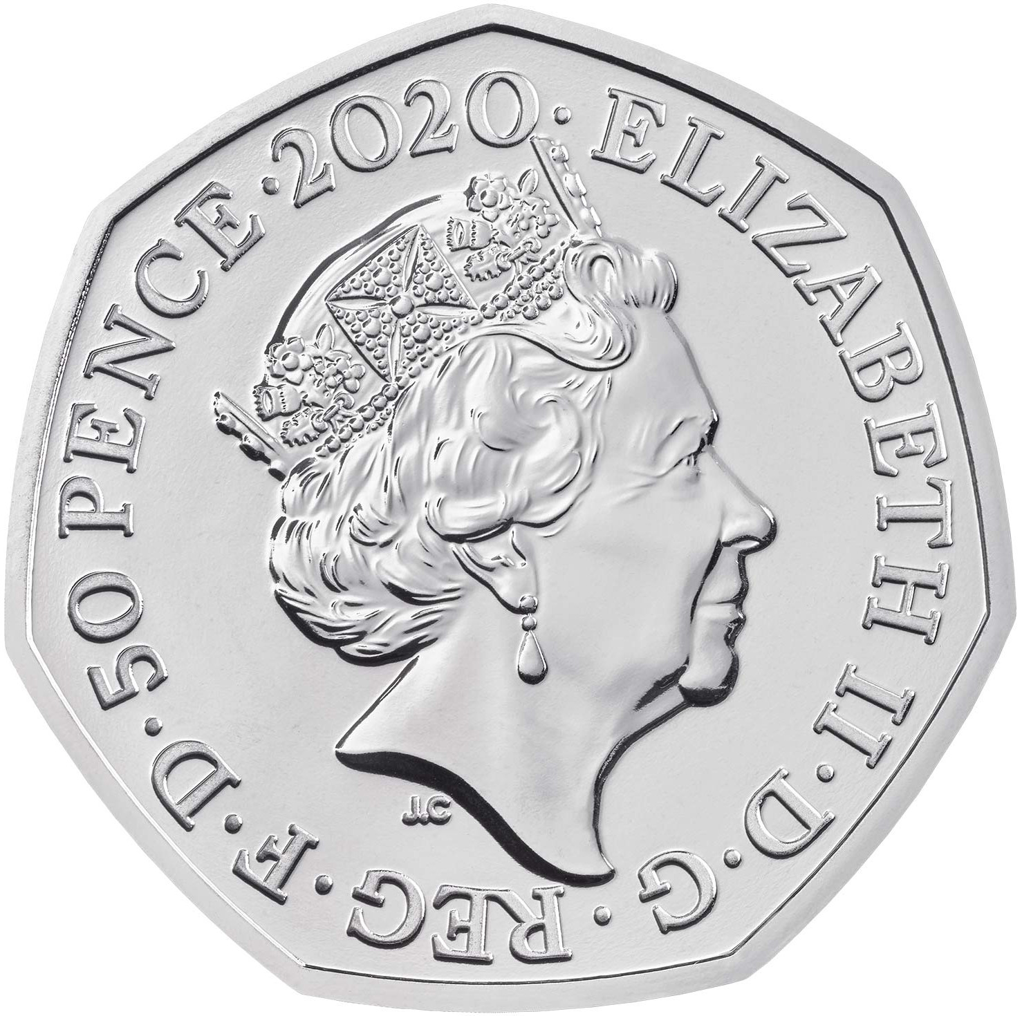 Fifty Pence 2020 Brexit: Photo Withdrawal from the European Union 2020 UK 50p Brilliant Uncirculated Coin