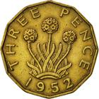 United Kingdom / Threepence 1952 (Brass) - reverse photo