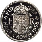 Halfcrown 1958: Photo Great Britain 1958 half crown