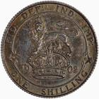 Shilling 1902: Photo Coin - Shilling, Edward VII, England, Great Britain, 1902