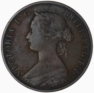 United Kingdom / Halfpenny 1867 - obverse photo