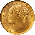 Sovereign 1871 St George: Photo Great Britain 1871 sovereign Fr-388