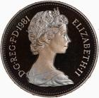 United Kingdom / Five Pence 1981 (Proof only) - obverse photo