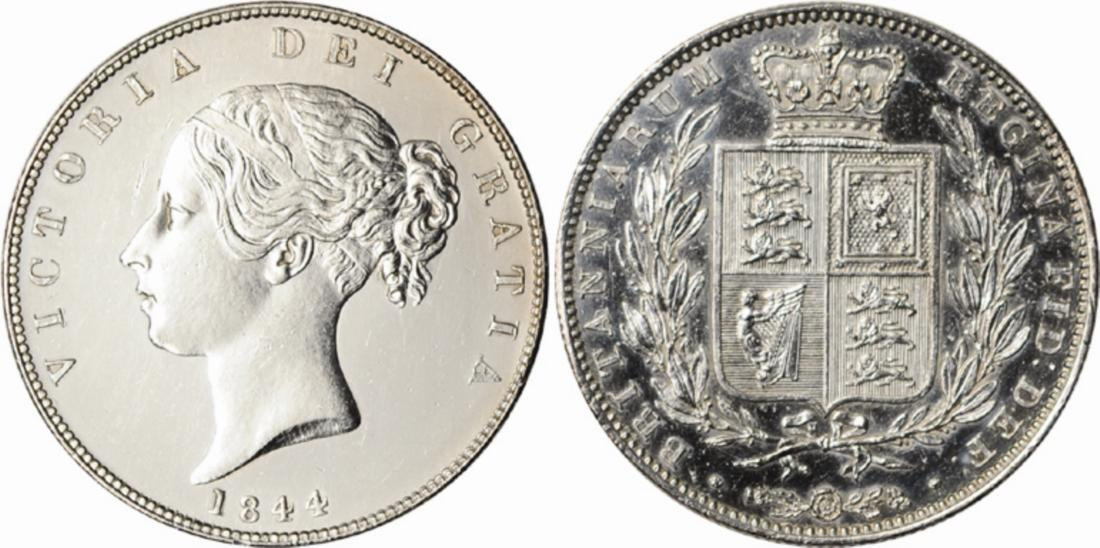 Halfcrown 1844: Photo Great Britain 1844 half crown