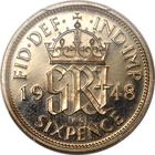 Sixpence 1948: Photo Great Britain 1948 6 pence