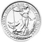 United Kingdom / Silver Quarter Ounce 2014 Britannia - reverse photo