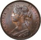 United Kingdom / Halfpenny 1861 - obverse photo