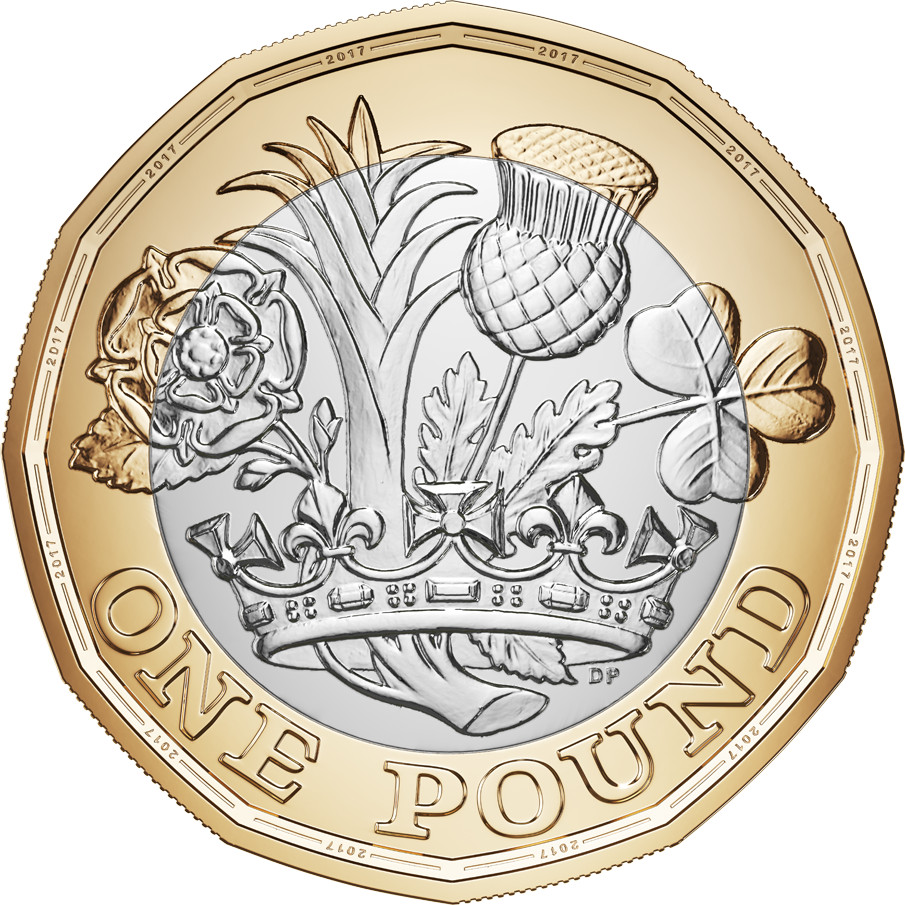 One Pound 2017: Photo The New One Pound Coin