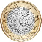 United Kingdom / One Pound - reverse photo