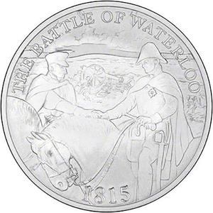 United Kingdom / Five Pounds 2015 Battle of Waterloo (Fifth Portrait) - reverse photo