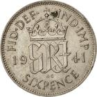 United Kingdom / Sixpence 1941 - reverse photo