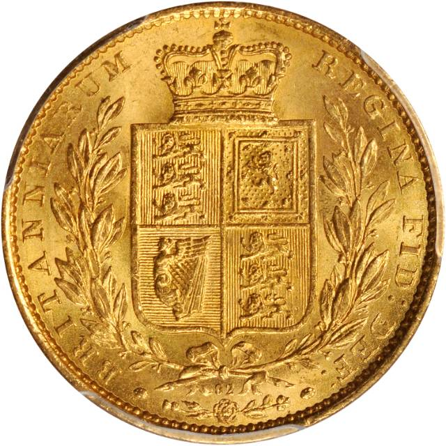 Sovereign 1864: Photo Great Britain 1864 sovereign